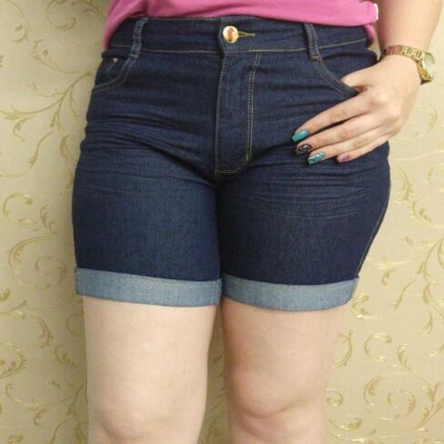 BERMUDA CONFORT COM BARRA DOBRADA KALLY JEANS 03.112.79 - Jeans