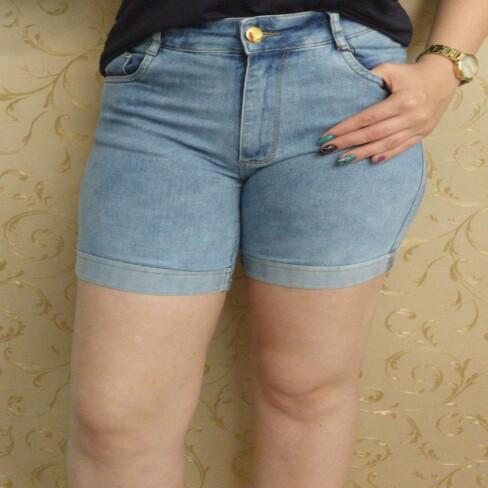 BERMUDA CONFORT COM BARRA DOBRADA KALLY JEANS 03.112.81 - Jeans