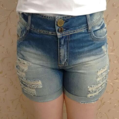 BERMUDA JEANS DESTROYER 202061 - Jeans