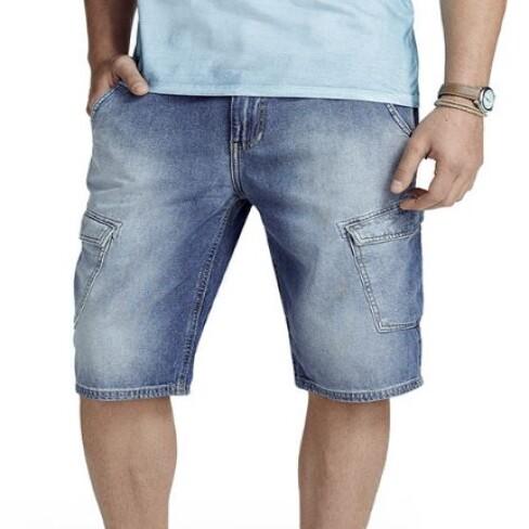 BERMUDA JEANS MASCULINA HERING H46Q - Jeans