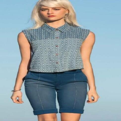BERMUDA MARIA VALENTINA 202091 - Jeans