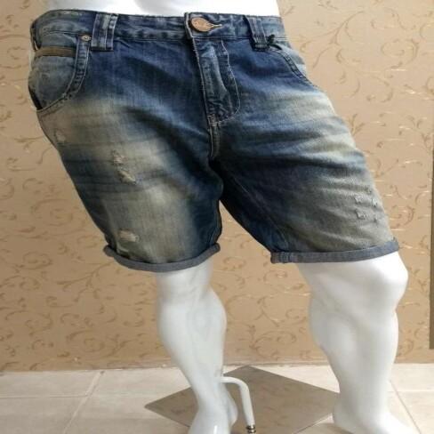 BERMUDA MASCULINA JEANS DEREK CAVALERA 08.02.1595 - Jeans