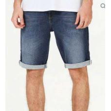 BERMUDA MOLETOM JEANS MASCULINA HERING H4AM - Jeans