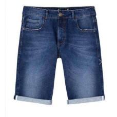 BERMUDA MOLETOM JEANS MASCULINA HERING H4AM - Jeans escuro