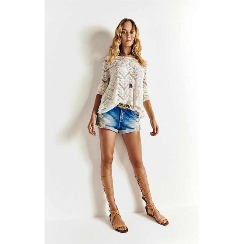 1ebe72e46 BERMUDA MORENA ROSA 202041 - Jeans - Delabela