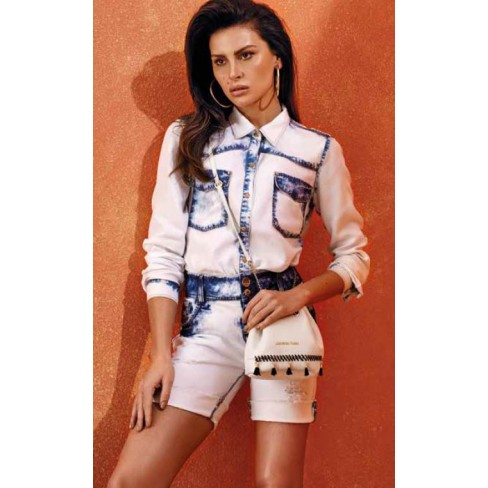 BERMUDA MORENA ROSA 202890 - Jeans