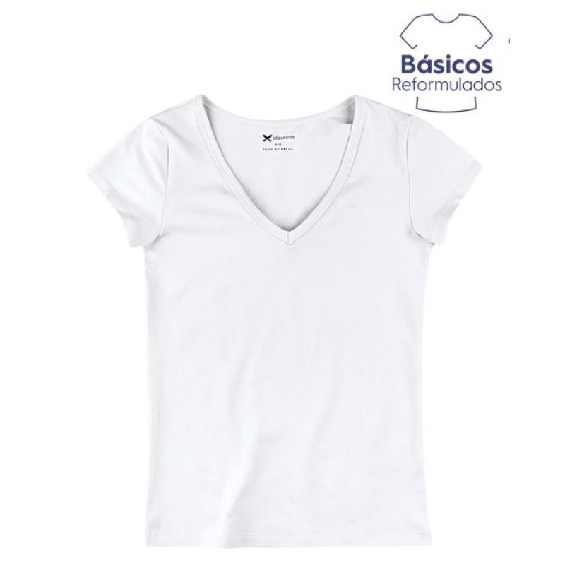 94278c64b9f07 BLUSA BÁSICA FEMININA HERING 02TQ - Branco - Delabela