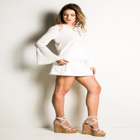 BLUSA MORENA ROSA 104054 - Off white