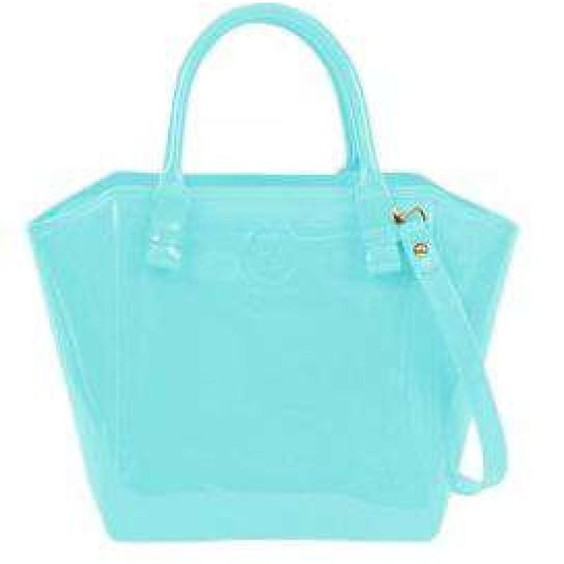 Bolsa De Mão Petite Jolie : Bolsa shape bag petite jolie pj azul delabela