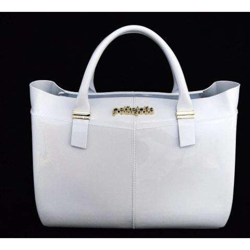 aa8a5173d3 BOLSA WORKY BAG PVC PETITE JOLIE PJ3457 - Branco - Delabela
