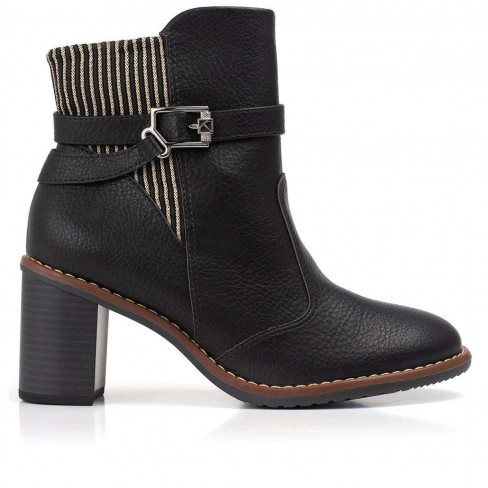 BOTA ANKLE BOOT PICCADILLY MAXITHERAPY 342015 - Preto