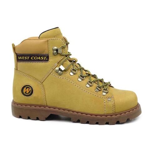 BOTA EM COURO WORKER CLASSIC WEST COAST 5790 - Amarelo