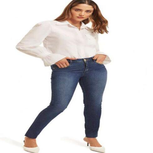 CALÇA SKINNY ANDREIA MORENA ROSA 205267 - Jeans
