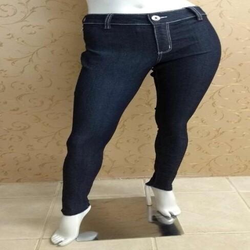 CALCA ESSENTIAL MARIA VALENTINA 202349 - Jeans escuro