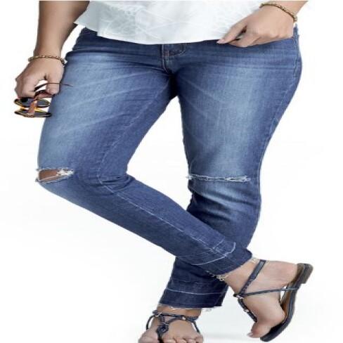 CALÇA FEM HERING H5YX - Jeans escuro