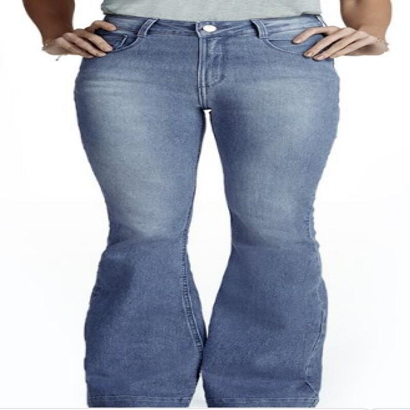 13b415583 CALÇA FEMININA HERING H5ZA - Jeans - Delabela