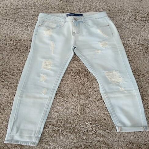 CALÇA FEM HERING KPCH - Jeans claro
