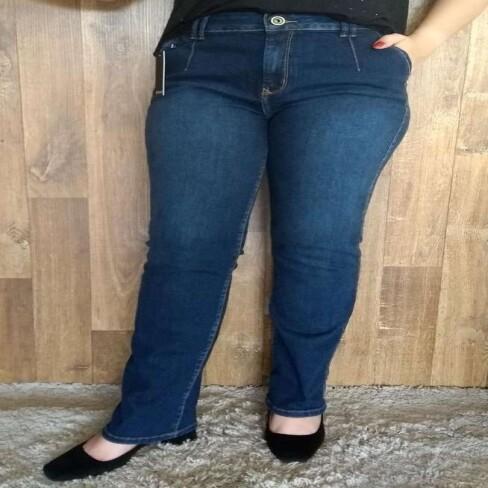 CALÇA FEMININA JEANS RETA HIGH ENNA 501CF002579 - Jeans