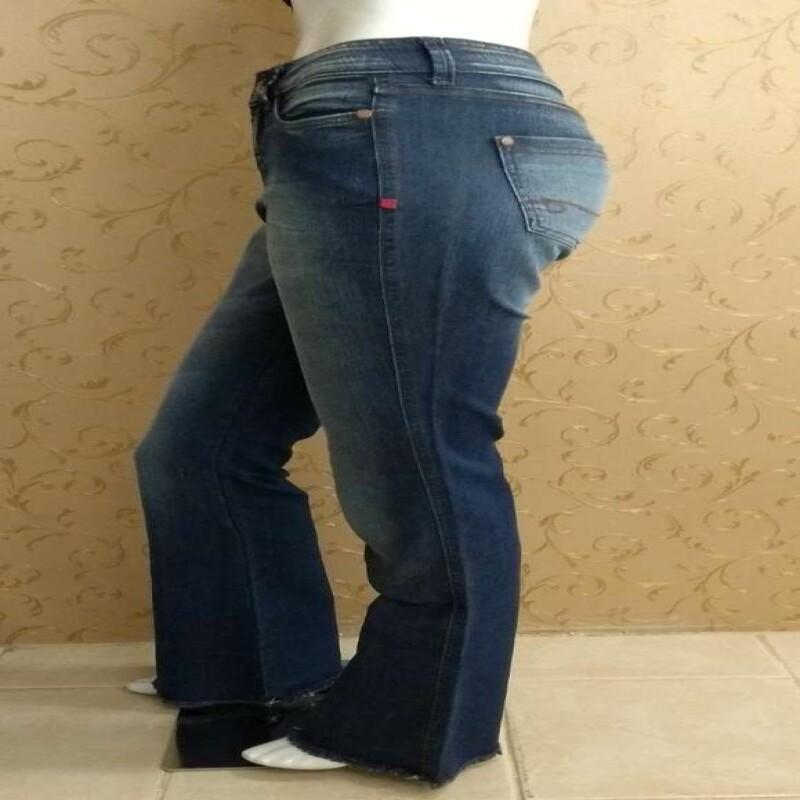 4fc927e3fe CALCA FLARE DZARM Z0GN - Jeans - Delabela