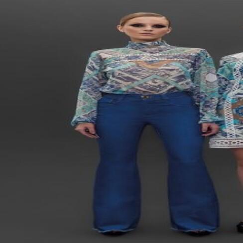 CALÇA FLARE HIGH BASICA PRÉ-ESTREIA PI7CL02 - Jeans