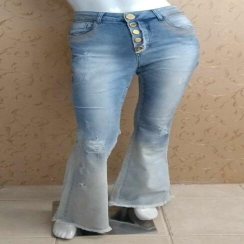 CALÇA FLARE HIGH PRE ESTREIA - Jeans