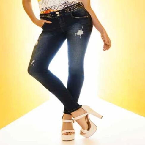 CALÇA ISABELLI MORENA ROSA 202699 - Jeans