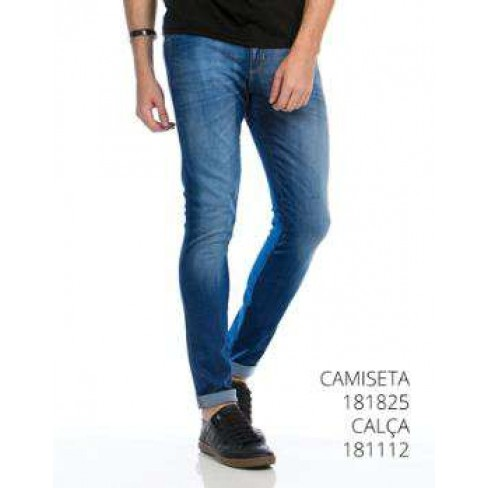 CALÇA JEANS BLUE SHADON ANTI-DOPPE 181112.01
