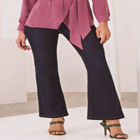 CALÇA JEANS BOOT CUT MARIA VALENTINA 203273 - Jeans