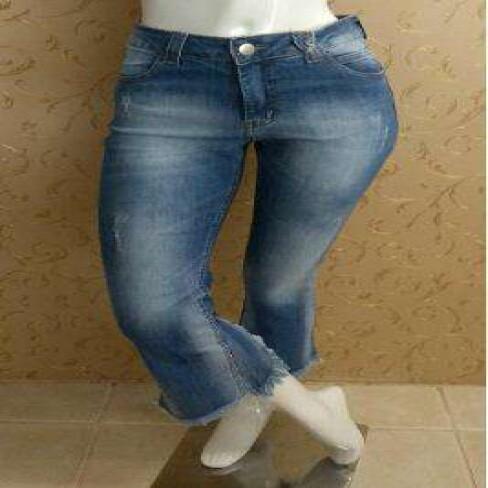 CALÇA JEANS BOY CROPPED LADY ROCK 8881 - Jeans