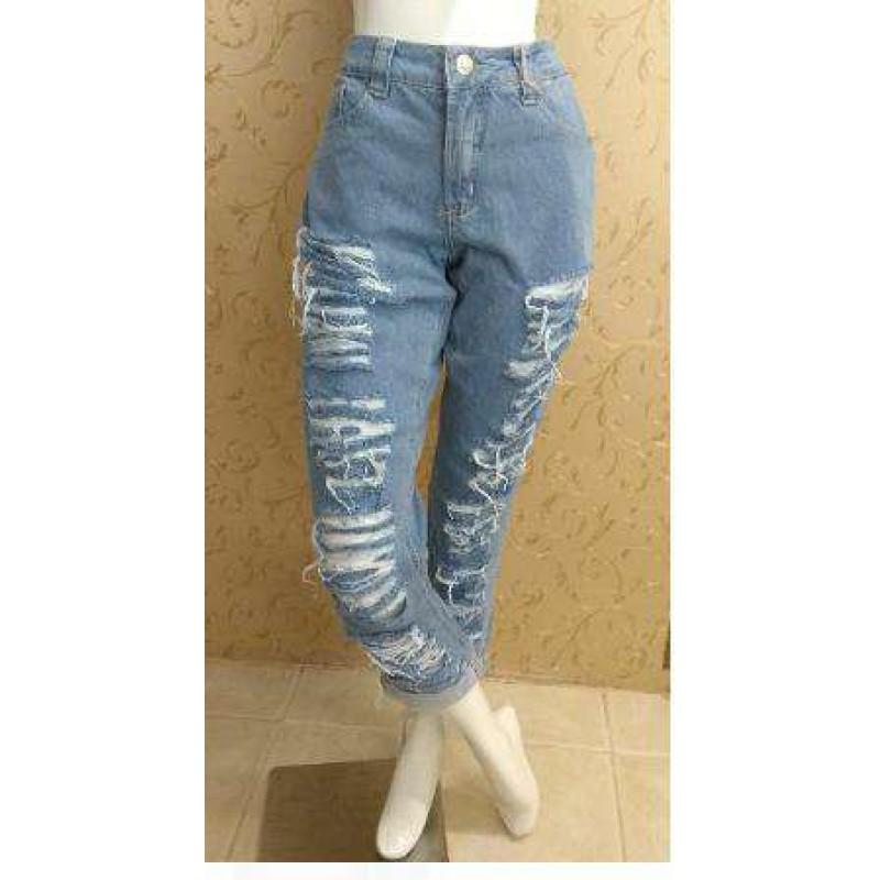 ee77324ee CALÇA JEANS BOYFRIEND MEG LADY ROCK 8672 - Jeans - Delabela