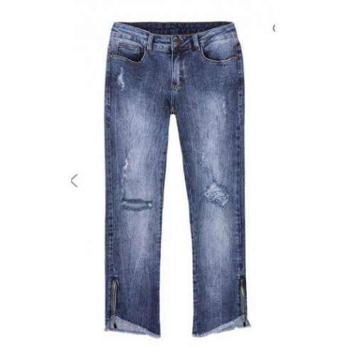 CALÇA JEANS FEMININA CROPPED HERING KZKF - Jeans