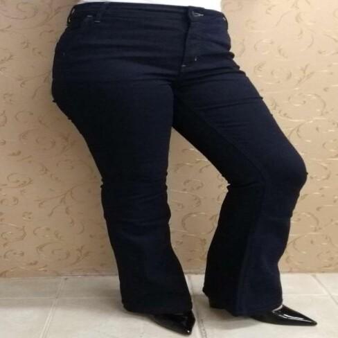 CALÇA JEANS FEMININA HERING H5Z1 - Jeans
