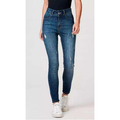 CALÇA JEANS FEMININA SUPER SKINNY HERING H98R - Jeans