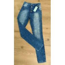 75bb9a3fe CALCA JEANS HOT PANT C/BOTÕES ÉDEN 512 - Jeans