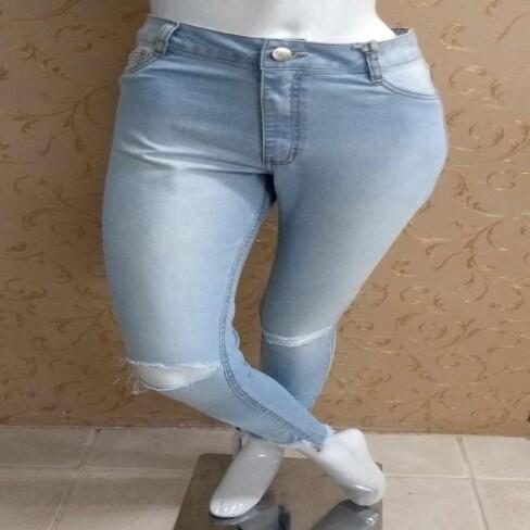 CALÇA JEANS HOT PANT LADY ROCK 10386 - Jeans