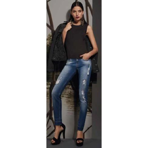 CALÇA JEANS ISABELLI MORENA ROSA 203004 - Jeans