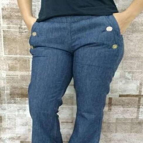 CALCA JEANS MARIA VALENTINA 37206 - Jeans
