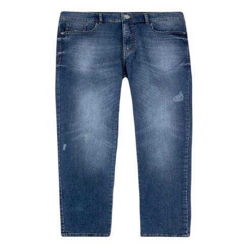 CALÇA JEANS MASCULINA TAPER HERING H1QD - Jeans