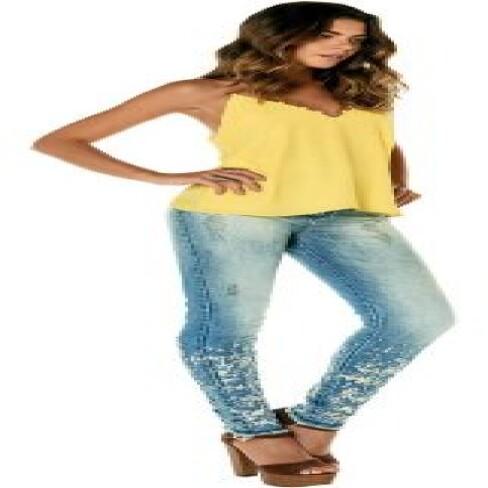 CALÇA SKINY PRÉ ESTREIA PV7CL09 - Jeans