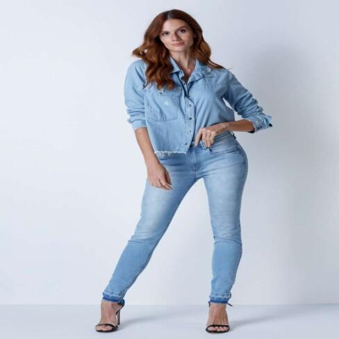 CALÇA JEANS SECOND ANKLE MY FAVORITE 501CF002521 - Jeans