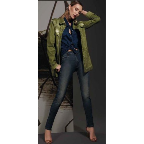 CALÇA JEANS SKINNY MORENA ROSA 202965 - Jeans