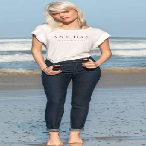 CALÇA MARIA VALENTINA 202056 - Jeans