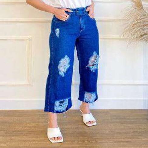 CALÇA PANTACOURT KALLY JEANS 2187 - Jeans