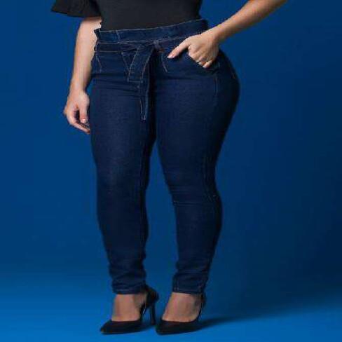 CALÇA SKINNY CLOCHARD KALLY JEANS 2129 - Jeans