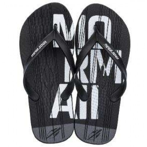 CHINELO MASCULINO TROPICAL GRAPHICS MORMAII 10591 - Preto