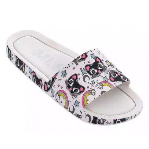 CHINELO MELISSA BEACH SLIDE 3DB IV 32540 - Branco