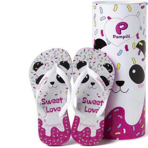 CHINELO PANDA LOVE PAMPILI 460.013 - Pink