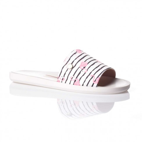 CHINELO SLIDE VIZZANO FLAMINGO 6363.105 - Branco