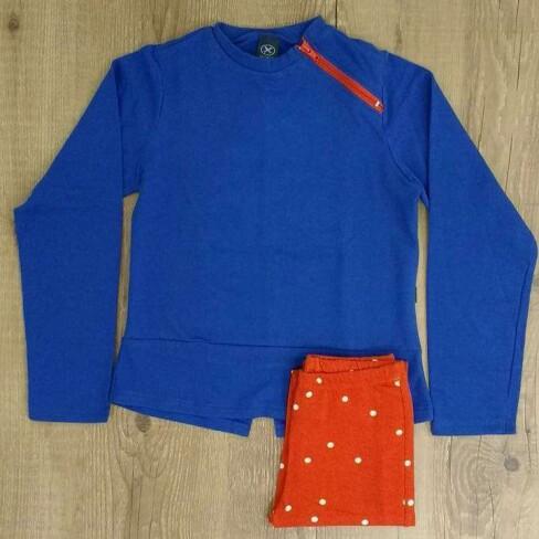 CONJUNTO INFANTIL HERING 59ZG - Azul