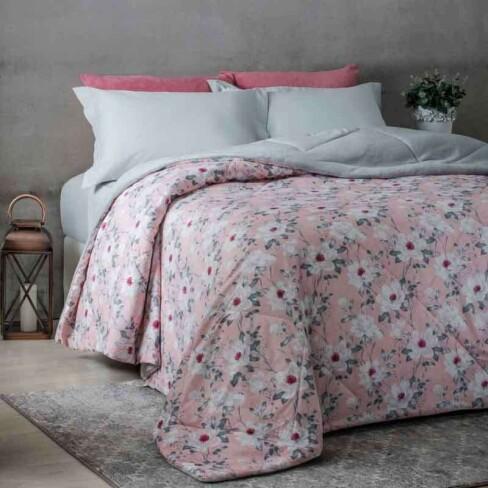 edredom dupla face queen 2 20x2 40 attuale corttex rosa delabela. Black Bedroom Furniture Sets. Home Design Ideas